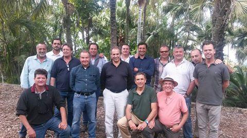 Las empresas de ASOCAN reconocen el trabajo del Consejero de Carreteras