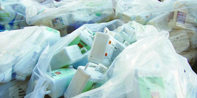 La Institución organiza una campaña de recogida de productos fitosanitarios