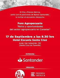 «FORO AGROPECUARIO SANTANDER»